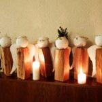 Engel aus der Engelwerkstatt der Miteinander-Gruppen