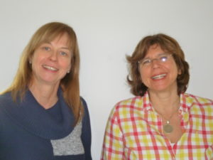 Ursula Steiger und Cornelia Fingerloos