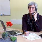 Sozialpädagogin Anja Pinkert vom Diakonischen Werk Odenwald