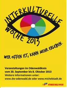 Link zum Programm der Interkulturellen Woche 2013 im Odenwaldkreis