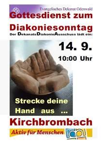 Diakoniegottesdienst 2014 in Kirchbrombach