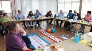 Diskussionsrunde BCO in Höchst