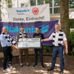 Scheckübergabe Eintracht Frankfurt
