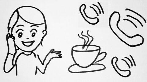 Kaffeeklatsch per Telefonkonferenz