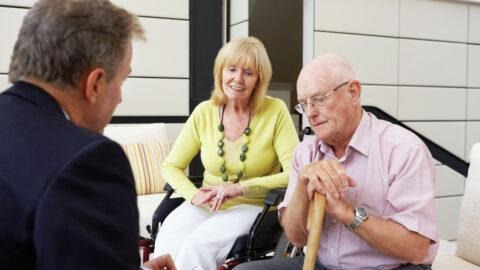 Beratung von Senioren und Angehörigen